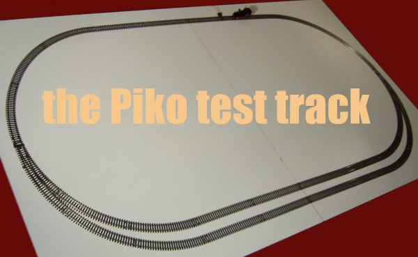 the Piko test track, click to see the layout